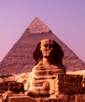 Der Sphinx trägt ein tiefes Geheimnis in sich